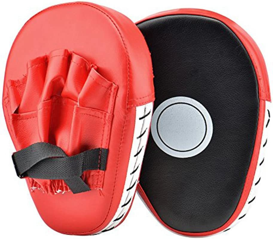 Shuxinmd Gants De Sac De Boxe Dentra/înement Boxe Tapis Dentra/înement Et Gants De Kick-Boxing 2 Pcs PU