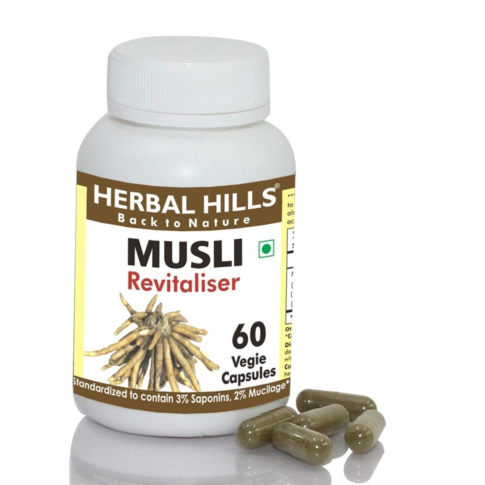 Herbal Hills Musli 60 Vegie Capsules