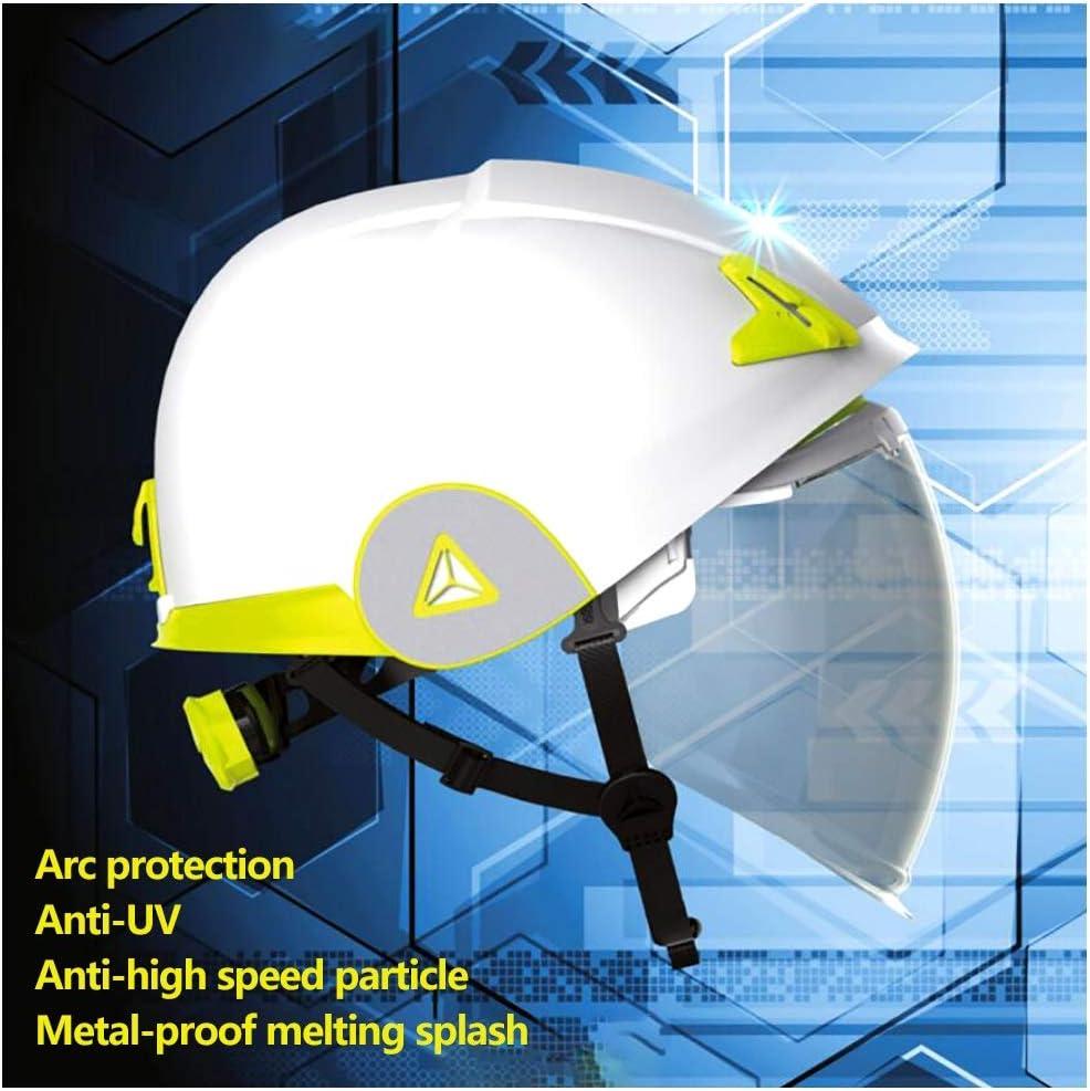 GJX-Casco de seguridad ABS Cascos de seguridad, Gorro de protección for trabajadores de construcción, Cascos de trabajo,Casco de seguridad de ventilación, Cascos de protección en div. Casco reflectant