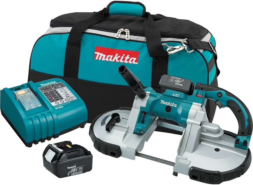Makita BPB180 18-Volt LXT Lithium-Ion Cordless Portable Band Saw Kit Discontinued by Manufacturer