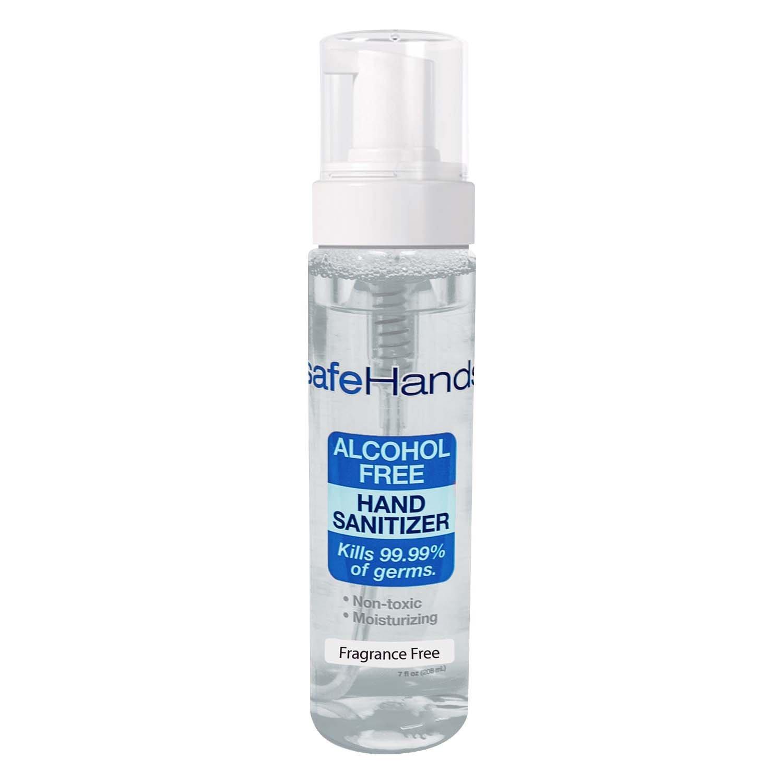 Amazon com : safeHands #1 Alcohol-free Foam Hand Sanitizer, Clean