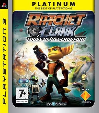 Amazon Com Ratchet Clank Tools Of Destruction Video Games