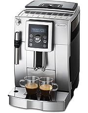 De'Longhi ECAM 23.420.SB – Kaffeevollautomat mit Milchaufschäumdüse, Digitaldisplay mit Klartext, 2-Tassen-Funktion, großr 1,8 l Wassertank, 35,4 x 23,8 x 43 cm, silber/schwarz