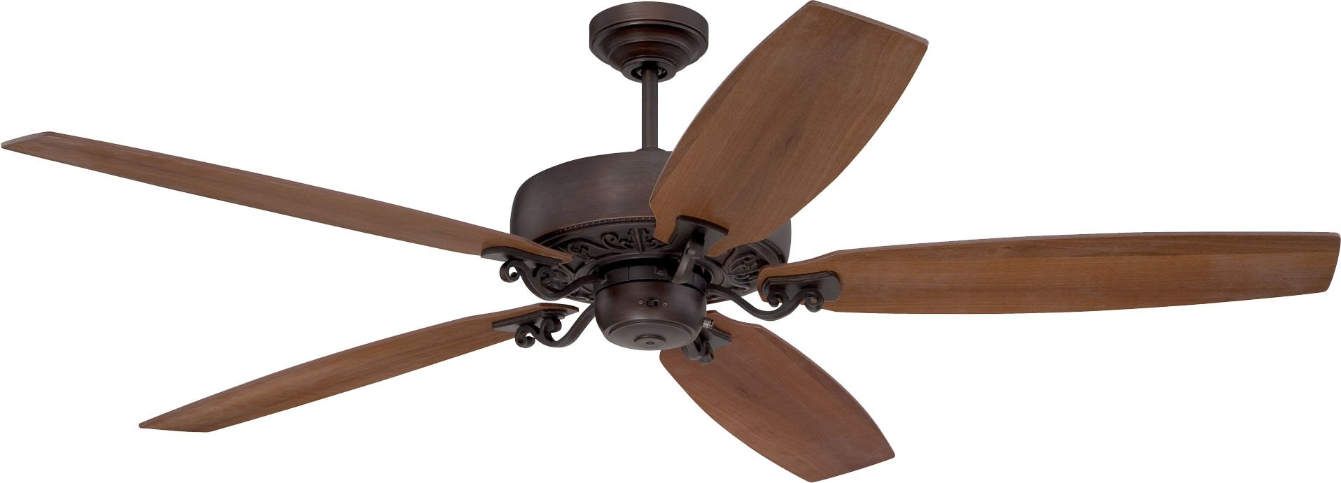 Craftmade PAT64ABZC5 Ceiling Fan with Blades Included, 64''