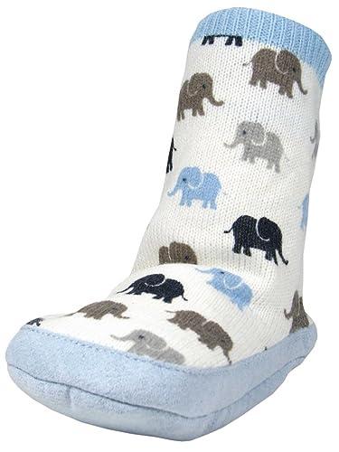 Amazon Com Baby Boys Elephant Infant Slipper Socks By Carters