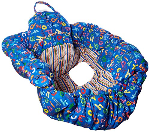 Floppy Seat Ez Carry Shopping Cart and High Chair Cover, Blue ABC by Floppy Seat (Image #3)