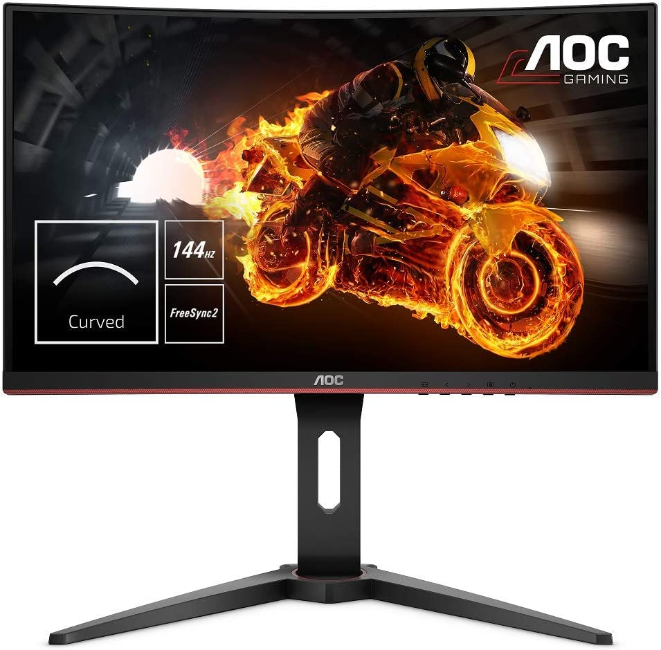 "AOC C24G1 - Monitor gaming curvo sin marcos de 24"" Full HD"