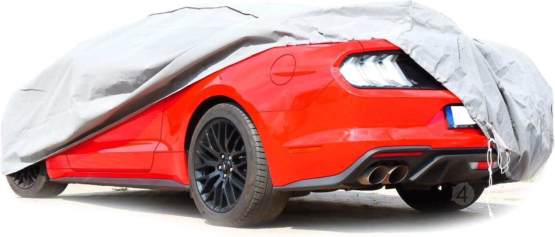 Vollgarage Ganzgarage Mobile Xl Coupe Kompatibel Mit Ford Mustang Vi Schutzplane Abdeckung Auto
