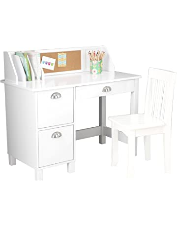 Kids White Desk With Drawers Cabinet With Desk Inside