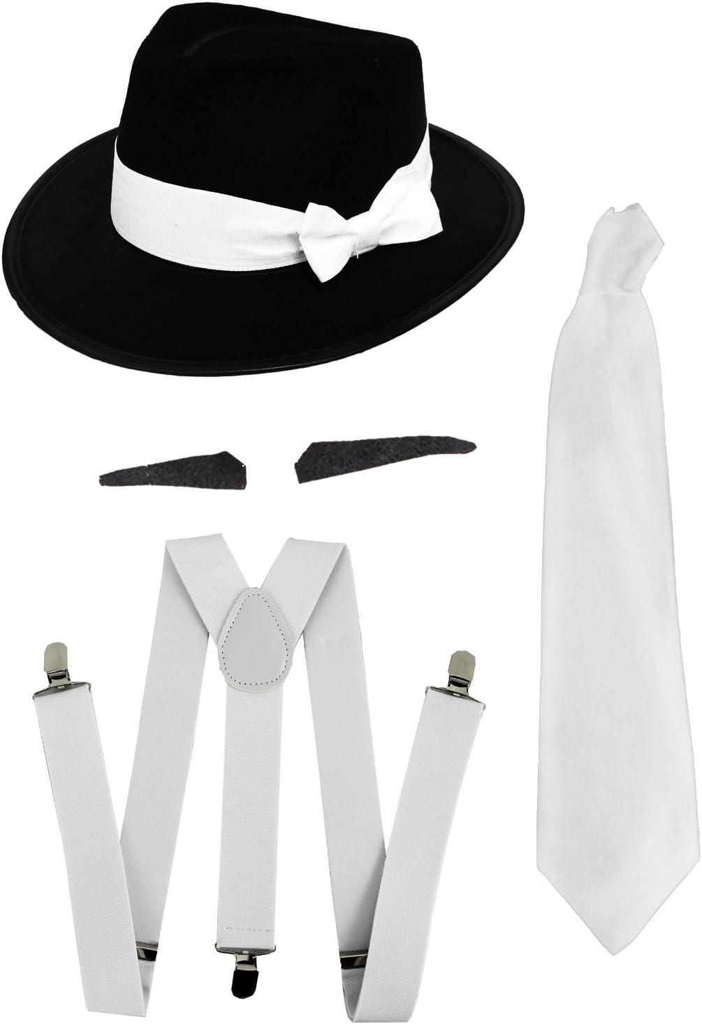 Gangster Disfraz Deluxe accesorios de la serie 1920er – Tirantes ...