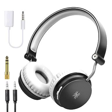 OneOdio Auriculares inalámbricos Bluetooth con micrófono para deportes, llamadas, viajes y correr, DEEP