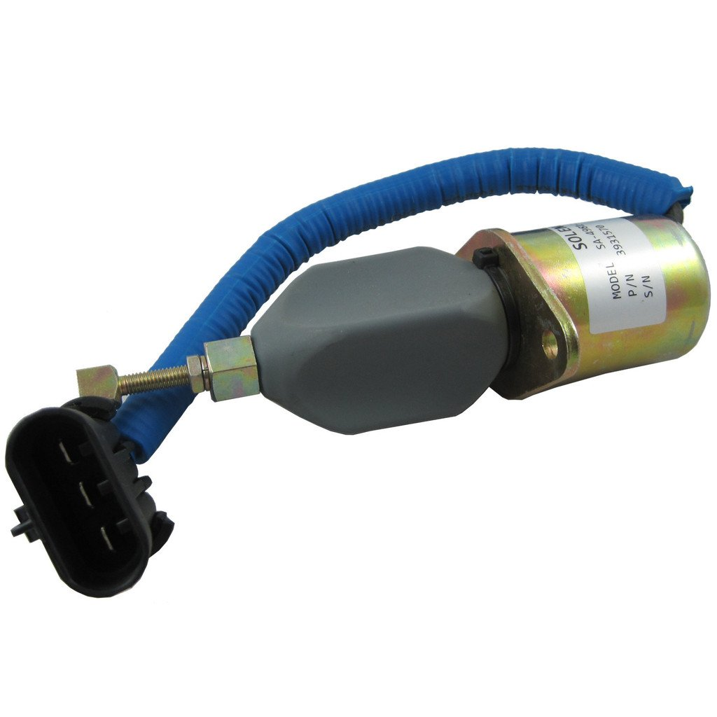 Generic New Fuel Shut Off Solenoid for 94-98 5.9L Dodge Diesel Cummins 3931570 5016244AA JDMSPEED