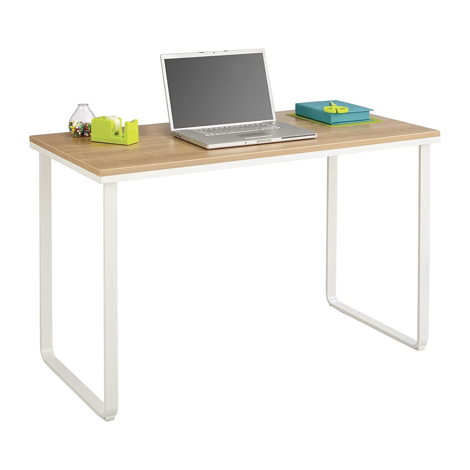 Amazon.com: Safco Products 1943BLSL Simple Design Table Desk with ...