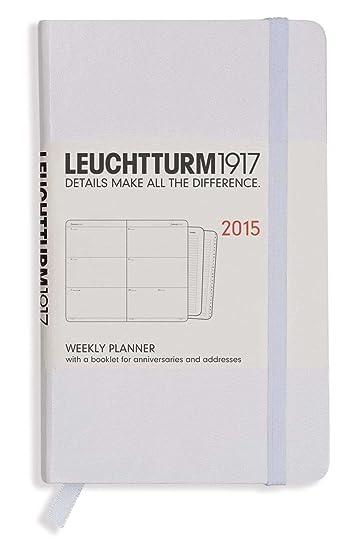 Amazon.com : Leuchtturm1917 Weekly 2015 Pocket Planner ...
