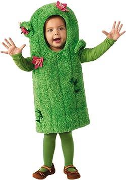 Horror-Shop Traje De Cactus Verde con Flores para Niños XS: Amazon ...