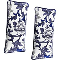 F Fityle Pack of 2pcs Lavender Aromatherapy Yoga Eye Pillow, Silk Eye Protection, for Improve Sleeping