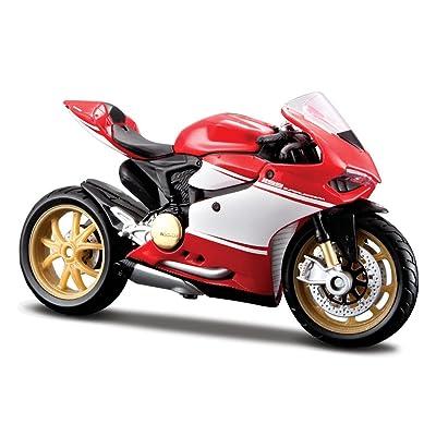 2014 Ducati 1199 Superleggra [Maisto 13100] Rouge, 1:18 Die Cast Jeux et Jouets