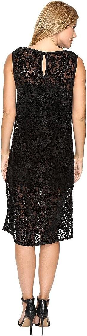 Lucky Brand Womens Velvet Midi Dress