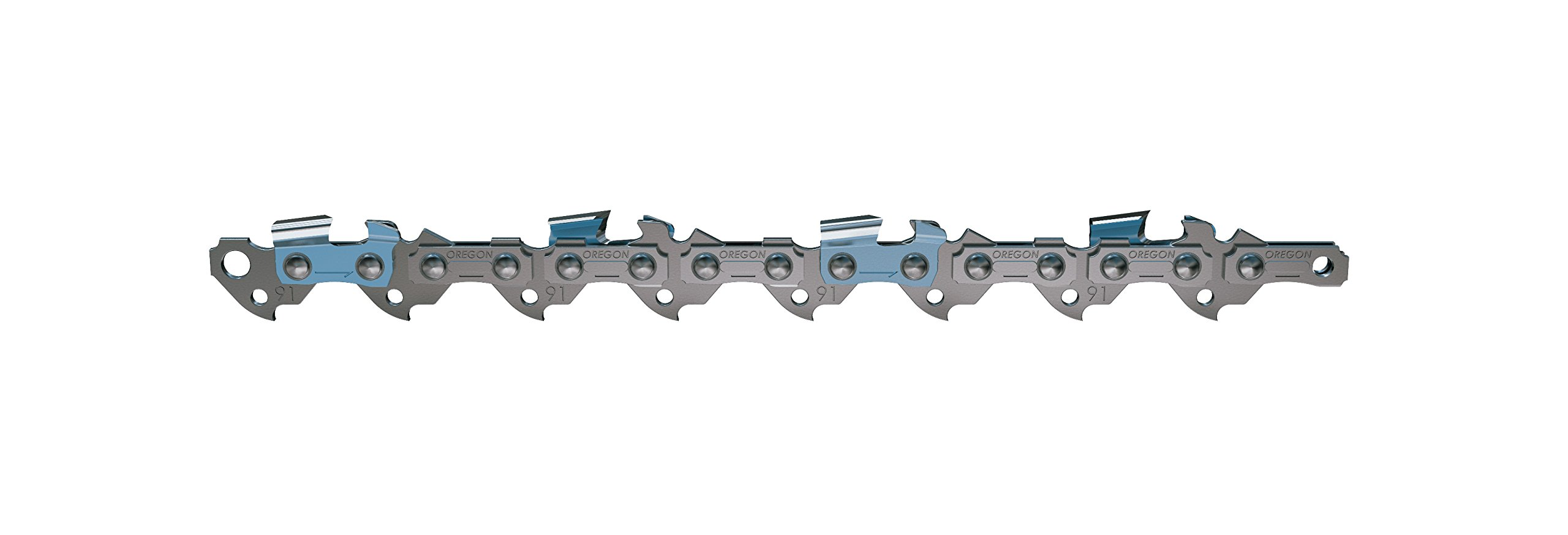 Oregon 91PXL055G 55 Drive Link, Semi-Chisel, 3/8'' Low Profile pitch.050 Gauge Saw Chain by Oregon