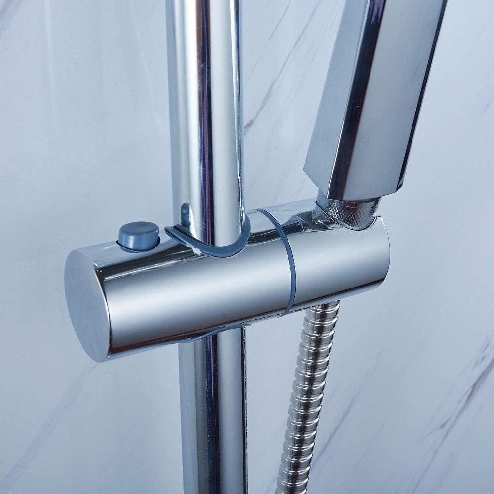 con sistema de ducha de 3 v/ías Set de ducha con columna de ducha monomando