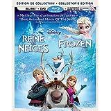 La reine des neiges / Frozen [Blu-ray + DVD + copie numrique] (Bilingual)