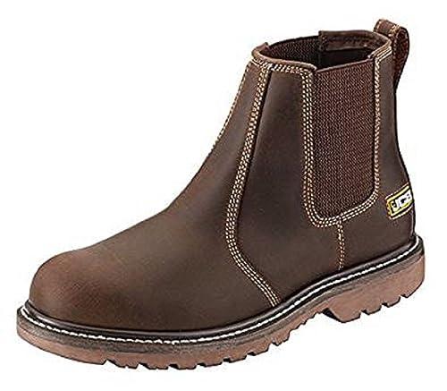 JCB Agmaster Pro distribuidor botas marrón o marrón claro ...