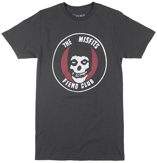 b0f7173dc4d5a Misfits Original Fiend Club Official Mens Tee T Shirt Skull and Logo Short  Sleeve (Small