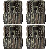 Moultrie S-50i 20MP 80-Foot FHD Video Infrared Game Camera (4 Pack)