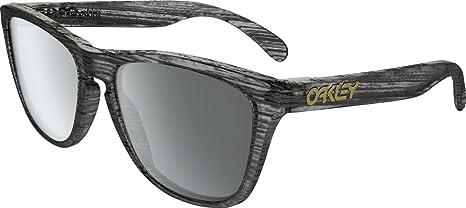 Oakley Frogskins Gafas de sol, Matte Clear Woodgrain, 55 ...