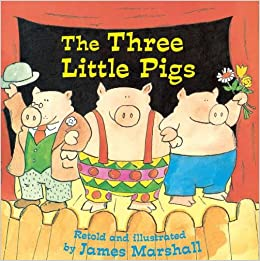 Image result for three little pigs book