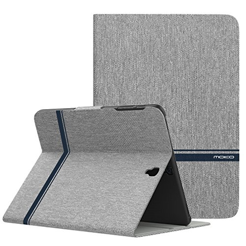 MoKo Samsung Galaxy Tab S3 9.7 Case - Premium Light Weight Stand Scratch Proof Folio Cover Case Protector Holder with Auto Wake/Sleep Function for Samsung Galaxy Tab S3 9.7 Inch Tablet, Light Gray
