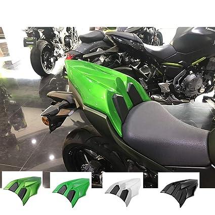 Ayouyue Cubierta de asiento trasero de alta calidad Sección de cola trasera Cubierta de cubierta de asiento para Z NINJA 650 z650 Ninja650 2017 2018 ...