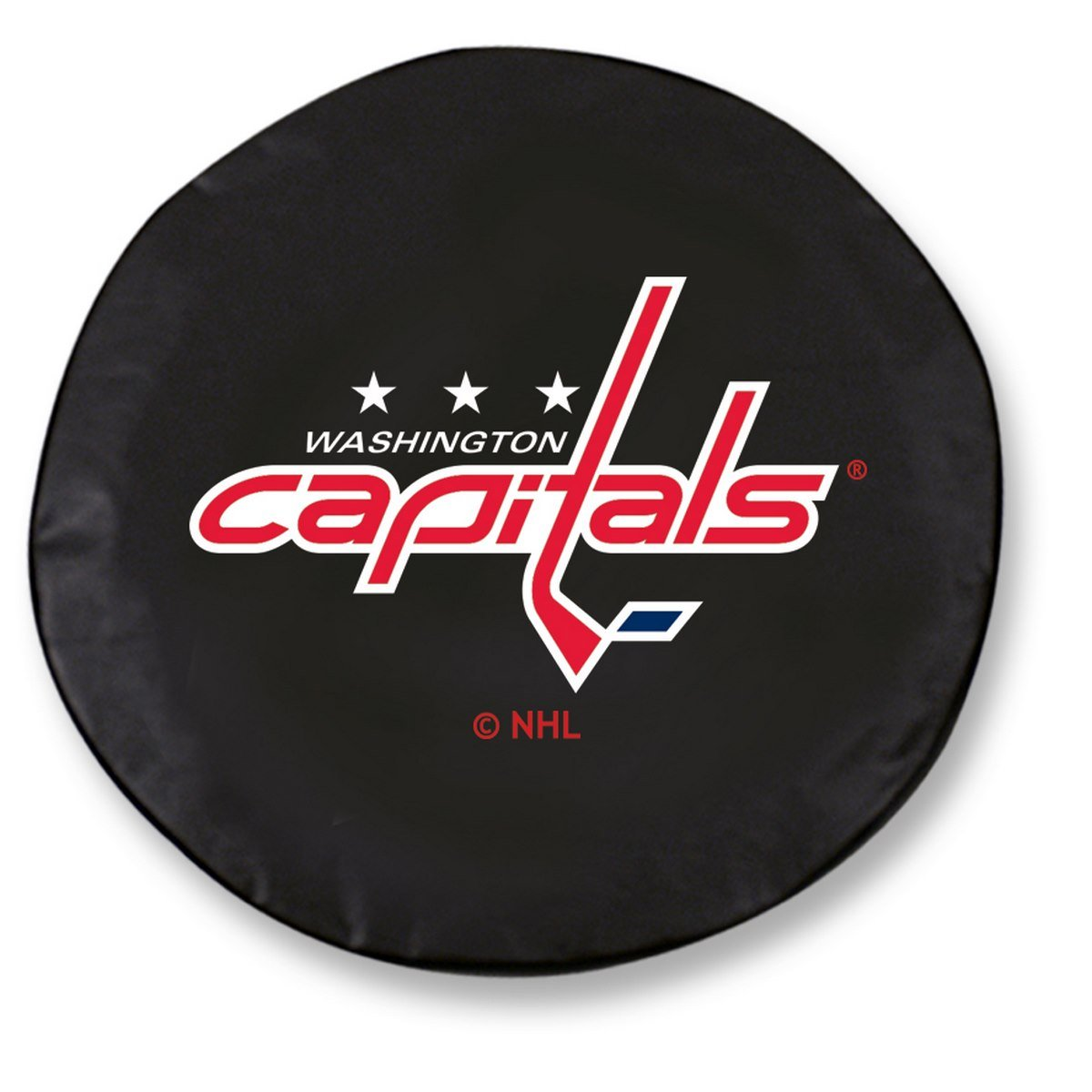 Holland Bar Stool Co. Washington Capitals HBS Black Vinyl Fitted Spare Car Tire Cover