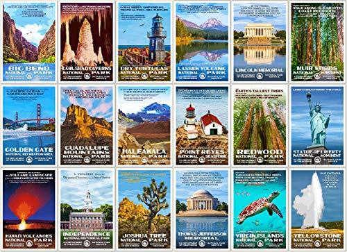 Price comparison product image Robert B. Decker National Park Postcards (Series C)