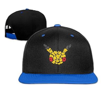 dda2560d094 Pokemon 20th Anniversary Cool Baseball Caps Snapback  Amazon.co.uk ...