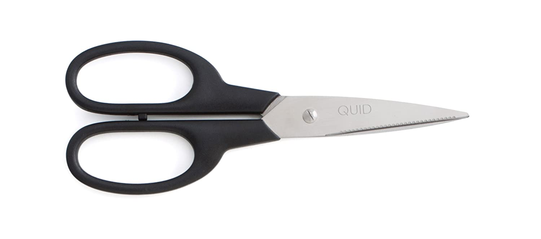 Quid Tijeras 19,8Cm INOX+Pl Kitchen Chef, Negro, 0.37 cm