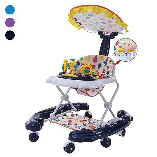 ZHANGYU Andador para bebé, Primer Paso, Plegable y Ajustable en ...