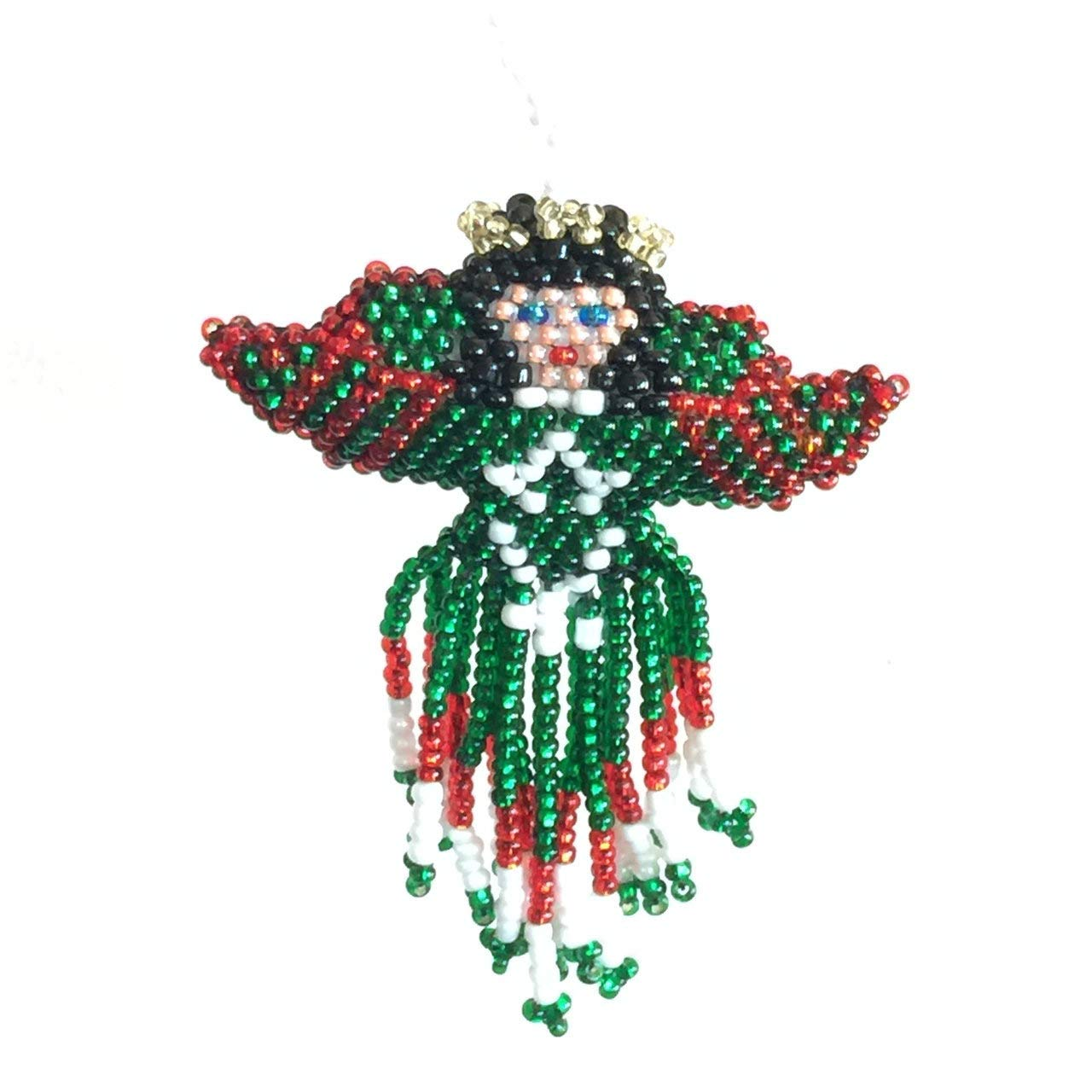 Amazon Com Mayan Arts Christmas Ornaments Beaded Ornamental