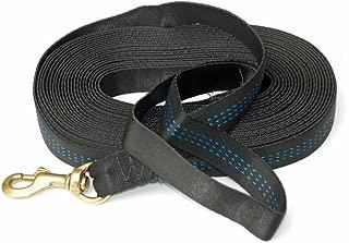product image for Signature K9 Tubular Nylon Tracking Line, Black