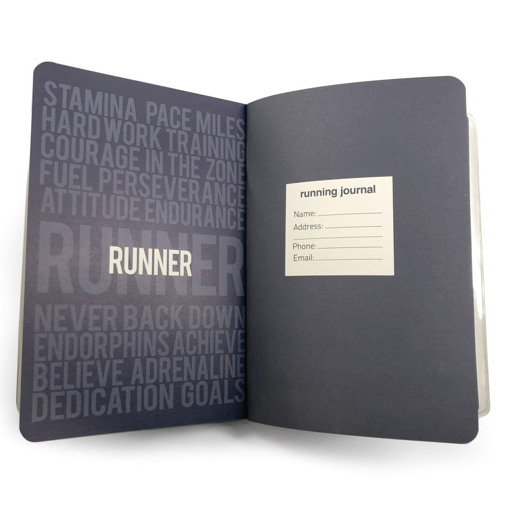 Gone For a Run Day-by-Day Run Planner | Running Journals Believe Running Girl