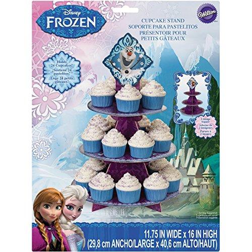 Wilton 1512-4500 Disney Frozen Cupcake Stand]()