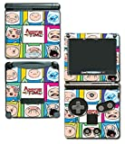 Adventure Time Jake Finn Princess Bubblegum Marceline Ice King BMO Beemo Video Game Vinyl Decal Skin Sticker Cover for Nintendo GBA SP Gameboy Advance System