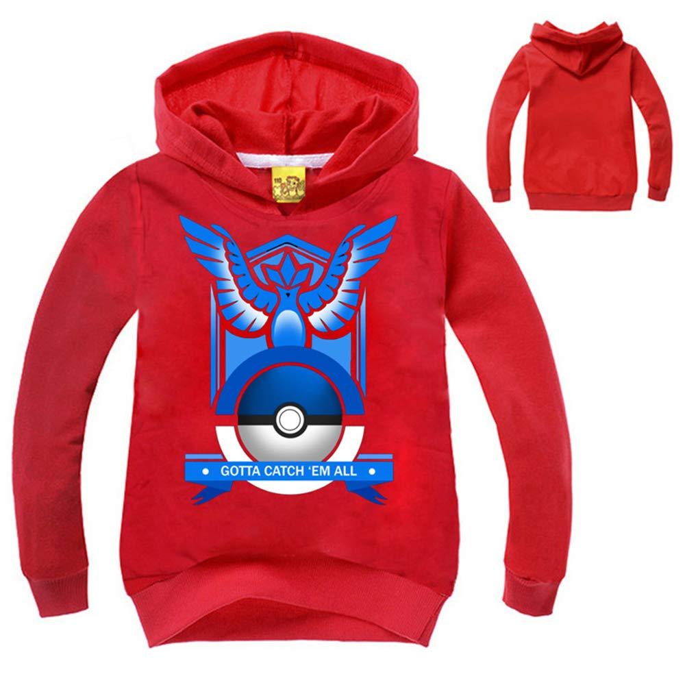 Unisex Mantener Caliente Pokemon Unisex Abrigo con Capucha Sudaderas Más Vendido Hoodie Mantener Caliente Outwear para Niño y Niña: Amazon.es: Ropa y ...