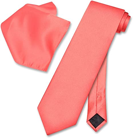 New Vesuvio Napoli Men/'s necktie solid color 100/% polyester prom Emerald Green