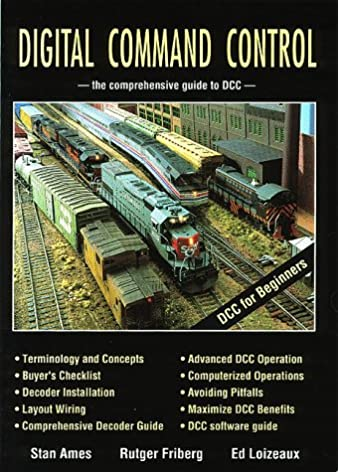 digital command control the comprehensive guide to dcc stan ames rh amazon com DCC Wiring For Dummies dcc wiring books