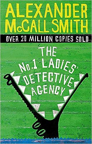 1 Ladies Detective Agency: Amazon.es: Alexander McCall Smith: Libros en idiomas extranjeros