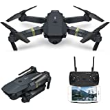 Drone con Telecamera, EACHINE E58 Pieghevole Drone con WIFI FPV HD 720P APP Mobile Controllo Grandangolare Selfie Drone Modalità di Attesa in Altitudine