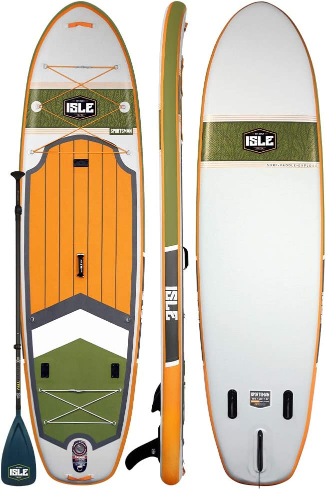 AKUALA Inflatable SUP Board All-Around Stand Up Paddle Board SUP Package