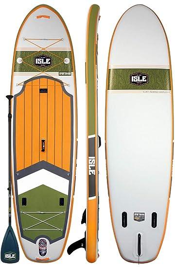 Amazon.com: ISLE - Tabla de pescar hinchable de 11.0 in de ...