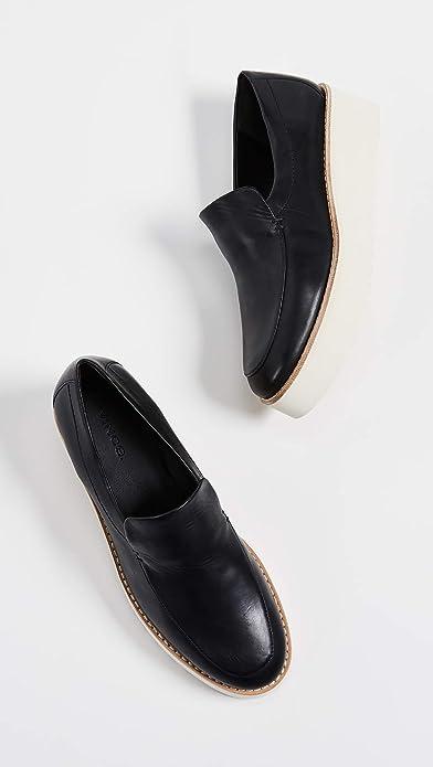 4e9620ba2bb Amazon.com  Vince Women s Zeta Platform Loafers  Shoes